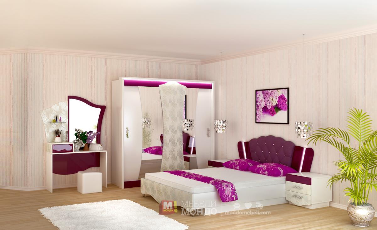 спален комплект смарт 453 27446 на топ цени мебели мондо