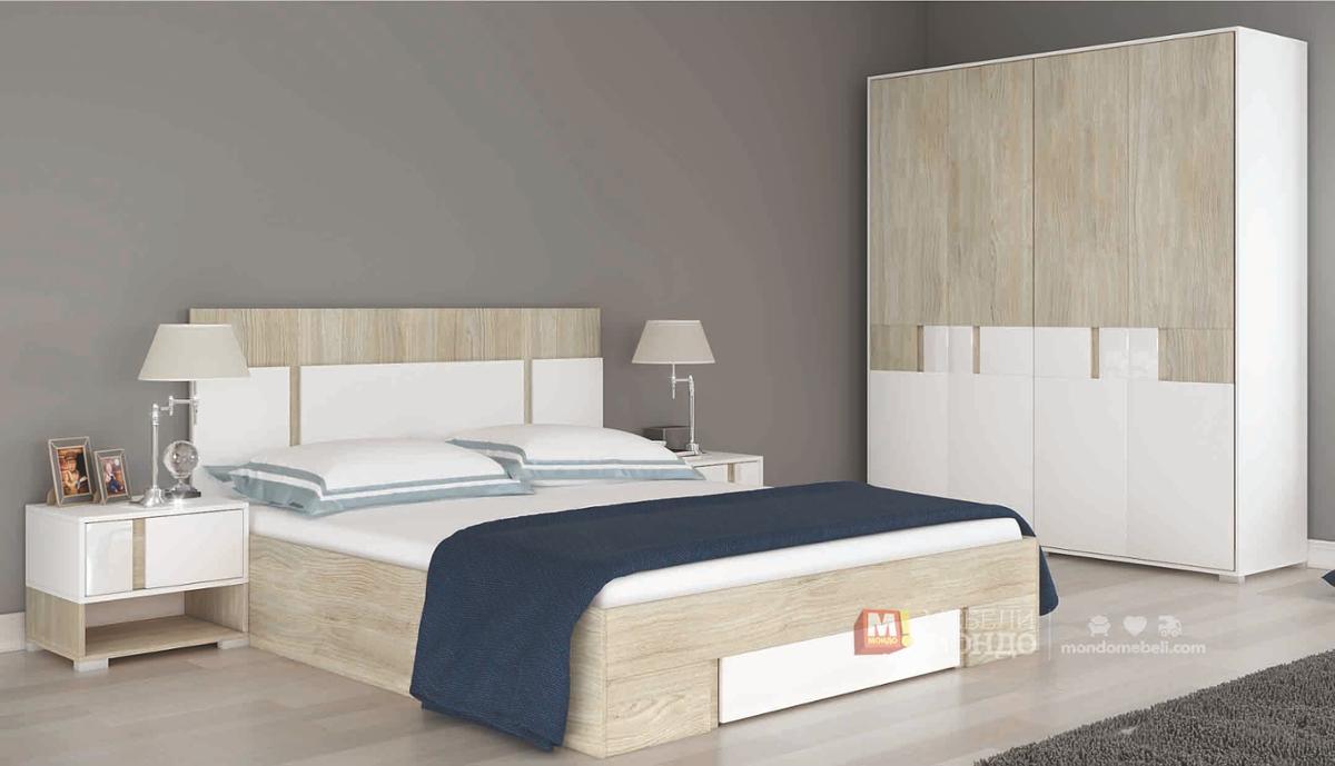 спален комплект смарт 481 63134 на топ цени мебели мондо
