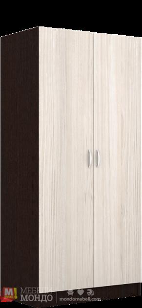 0b57c4a7912 Венге двукрилен гардероб Смарт 421 54543 на топ цени — Мебели Мондо