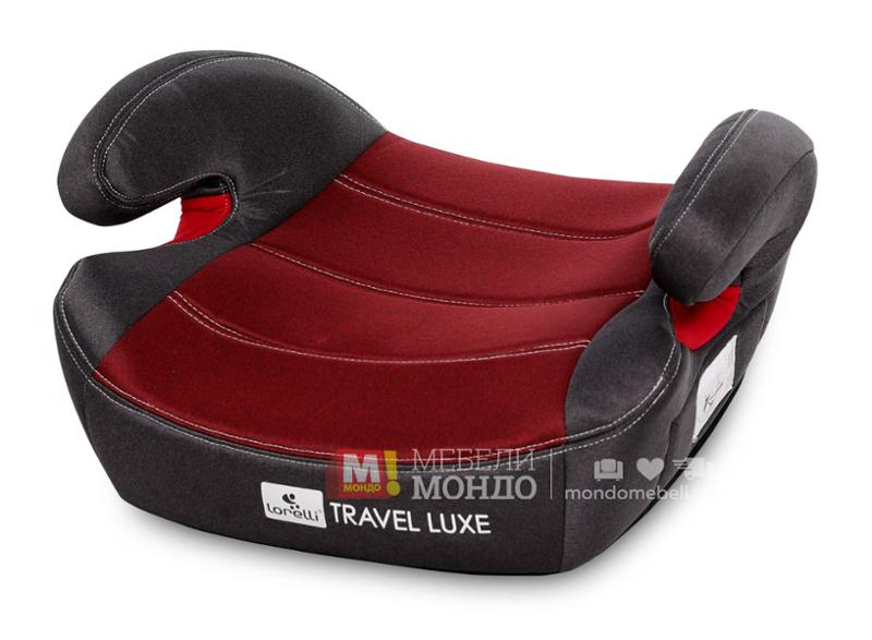 Седалка за кола TRAVEL LUXE Isofix Anchorages RED